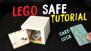 getlinkyoutube.com-How to Build a LEGO Safe With Card Key V4