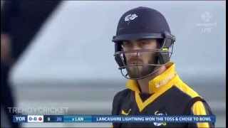 Glenn Maxwell Plays The Most Unbelievable Cricket Six Ever On The First Ball Of The Match