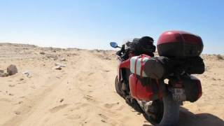 getlinkyoutube.com-VIDEO : PARIS DAKAR EN HONDA VFR 1200 F