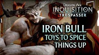 getlinkyoutube.com-Dragon Age: Inquisition - Trespasser DLC - Iron Bull & New Sex-Toys (Romance)