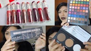 getlinkyoutube.com-Compras acumuladas en el Centro del DF (City Color, Jordana, Kleancolor, bissu y más)