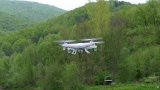 getlinkyoutube.com-Квадрокоптер Syma X5C