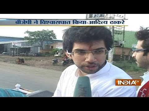 Exclusive: Shiv Sena's Star Campaigner, Aditya Thackeray Speaks With India TV - India TV