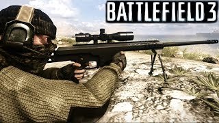 getlinkyoutube.com-Battlefield 3 Sniper Mission Gameplay Campaign