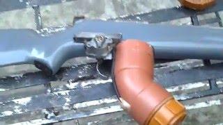 Homemade Marble Gun