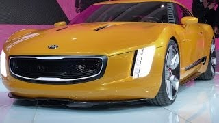getlinkyoutube.com-Watch the Revolutionary KIA GT4 Stinger Concept Debut at the Detroit Auto Show