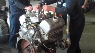 getlinkyoutube.com-6V53TT Silver Detroit Diesel first start (part1)