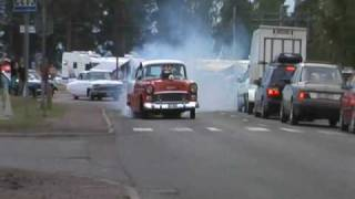 getlinkyoutube.com-Blown prostreet 55 chevy burnout