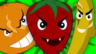 getlinkyoutube.com-five little fruits   haunted fruits   learn fruits   scary rhymes   nursery rhymes   kids songs