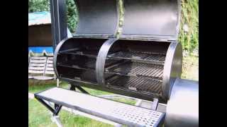 getlinkyoutube.com-My Homemade Custom Barbecue Smoker, Build Your Own