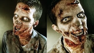 getlinkyoutube.com-The Walking Dead: Zombie makeup Tutorial