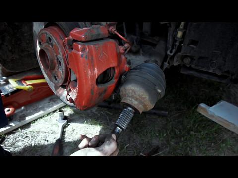Замена шруса Renault Laguna II