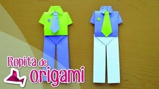 getlinkyoutube.com-Camisa de Origami con Pantalón