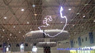getlinkyoutube.com-Bobina de Tesla 700 KV (700.000 Volts)
