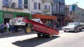getlinkyoutube.com-Lowriders and other vehicles: Cesar Chavez Day Parade San Francisco 2015, Part 2