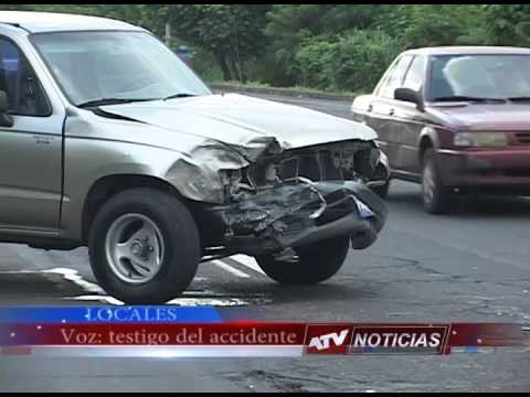 Accidente en carretera a Chalchuapa