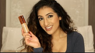 getlinkyoutube.com-EX1 Invisiwear Foundation Review & Demo | AnchalMUA