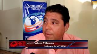 En MORENA yo garantizo el triunfo: Javier Pacheco