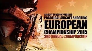 Airsoft Surgeon European Practical Pistol Championship 2015
