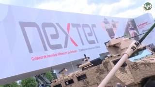 getlinkyoutube.com-Scorpion Program Jaguar Griffon & Leclerc MBT Upgrade with Nexter Eurosatory 2016