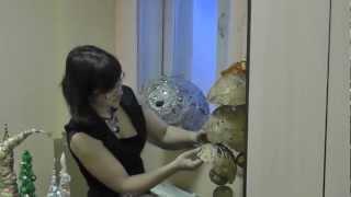 getlinkyoutube.com-Декоративные шары. Технология изготовления