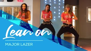 getlinkyoutube.com-Lean On - Major Lazer -  Fitness Dance Choreography