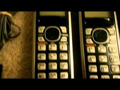 panasonic landline phones instructions