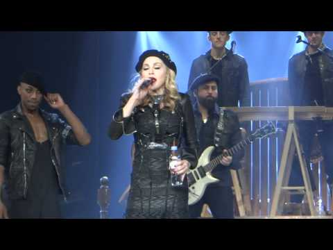 Madonna Speech MDNA Chicago Sept 19 2012