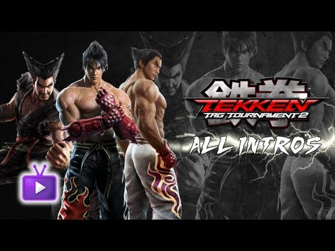 Tekken Tag Tournament 2 - ALL CHARACTER INTROS IN HD (INCLUDING DLC CHARACTERS)