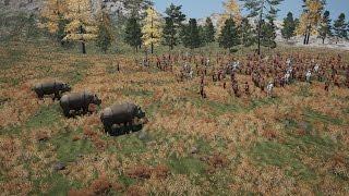 getlinkyoutube.com-Far Cry 4 Massive Battles - 101 Men Vs 3 Rhinos