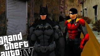 getlinkyoutube.com-Batman and Robin vs The Incredible Hulk - Awesome Battle!