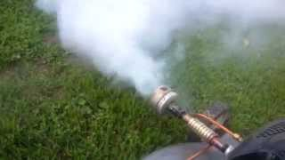 getlinkyoutube.com-Lawn Mower Fogger (DIY/Homemade with parts explanation)