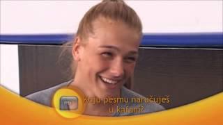getlinkyoutube.com-Marija Ćetković Miss Srbije - 60 sekundi za MONDO TV