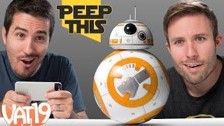 getlinkyoutube.com-Peep This: Star Wars BB-8 Droid by Sphero | Ep. #6