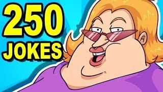 getlinkyoutube.com-250 YO MAMA JOKES - Can You Watch Them All?