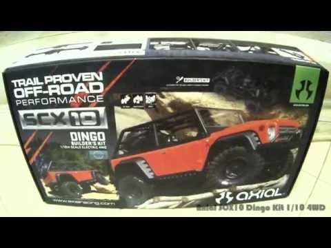 Axial SCX10 Dingo Kit 4WD
