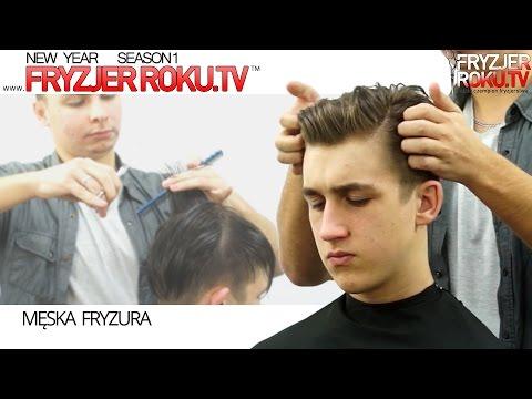 Nowoczesne męskie strzyżenie. Modern men's haircut FryzjerRoku.TV