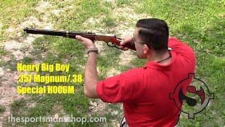 getlinkyoutube.com-Henry H006M Big Boy .357 Magnum Rifle