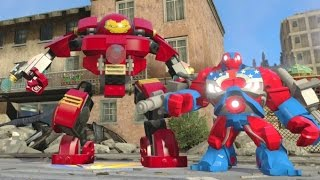 getlinkyoutube.com-LEGO Marvel's Avengers - All Playable Characters + Gameplay (Free Roam Showcase)