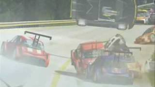Rfactor  Megane Cup Hiper Crash