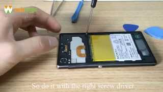 getlinkyoutube.com-Sony Xperia Z1 Teardown