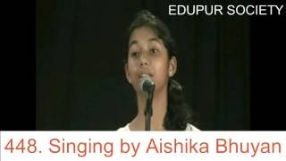 Singing by Aishika Bhuyan