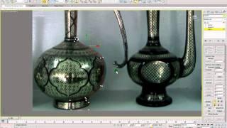 getlinkyoutube.com-3D Studio Max 2011 - Introduction to basic Splines and Lathe modifier. Part 1.