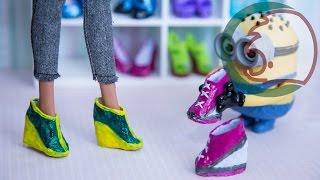 getlinkyoutube.com-Как сделать ботинки для куклы. How to make boots for a doll.