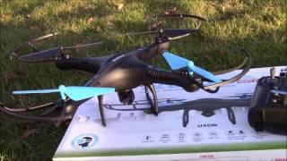 getlinkyoutube.com-UDI RC Drone U45W Quadcopter Review | USA Toyz