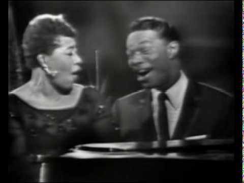 Ella Fitzgerald & Nat King Cole   It's All Right With Me 1949