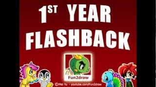 getlinkyoutube.com-Fun2draw - 1st Year Anniversary Cartoon Drawings Flashback - Popular Drawing Channel