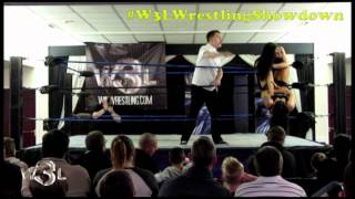 getlinkyoutube.com-W3L Wrestling Showdown - 21.01.16 - Womens Championship - Kasey Owens VS Leah Owens