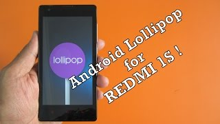 getlinkyoutube.com-[STABLE] RedMi 1s - Android Lollipop 5.1.1 (Latest build) ! everything working !