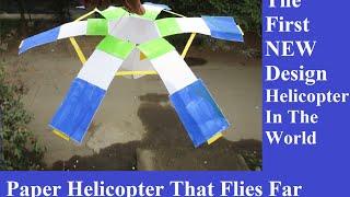 getlinkyoutube.com-How to make a paper helicopter that flies - Easy Way - how to make a helicopter that fly far